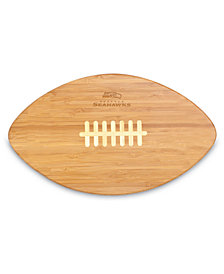 Picnic Time Seattle Seahawks Ball Shaped Cutting Board