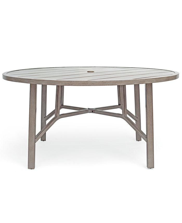 "Furniture - Aluminum Outdoor 60"" Dining Round Table"