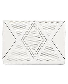 I.N.C. Hazell Perforated Clutch, Created for Macy's