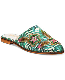 Kenneth Cole Reaction Women's Speed Floral Mules