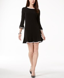 MICHAEL Michael Kors Flounce Dress, Regular and Petite Sizes