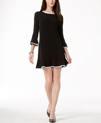 petite fit and flare dress