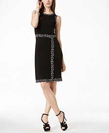 MICHAEL Michael Kors Faux-Wrap Dress in Regular & Petite Sizes