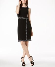MICHAEL Michael Kors Faux-Wrap Dress