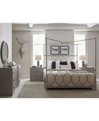 Image 2 of Rachael Ray Cinema Convertible King Canopy Bed  sc 1 st  Macyu0027s : macys canopy bed - memphite.com