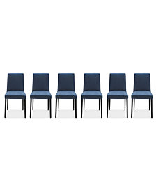 Gatlin Dining Chairs, 6-Pc. Set (6 Dining Chairs), Created for Macy's