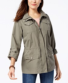 Petite Utility Jacket, Created for Macy's
