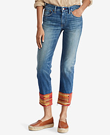 Polo Ralph Lauren Waverly Straight Crop Jeans