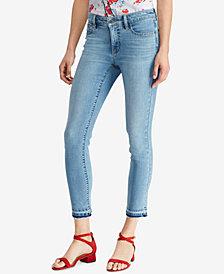 Lauren Ralph Lauren Petite Straight Crop Jeans