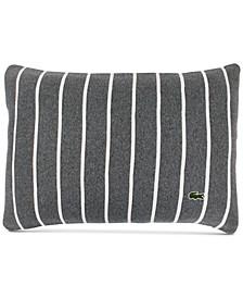 """Knit Ottoman Stripe 12"""" x 18"""" Decorative Pillow"""
