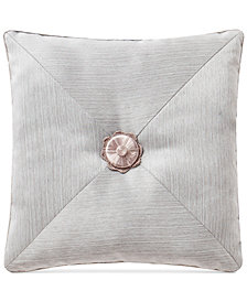 "Waterford Farrah  18"" Square Decorative Pillow"