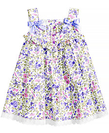 Bonnie Baby Floral-Print Dress, Baby Girls