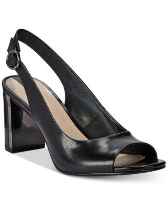 Women's Florraa Slingback Peep-Toe Dress Sandals, Created for Macy's