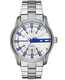 Diesel Men's MS9 Chrono Stainless Steel Bracelet Watch 47mm