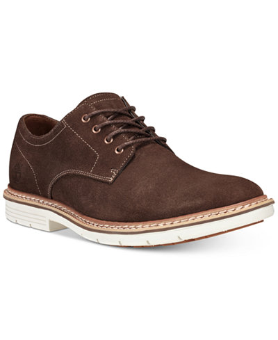 Timberland Men's Naples Trail Suede Oxfords