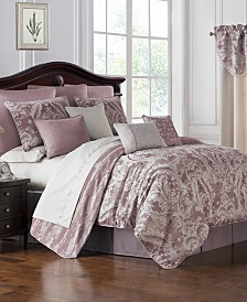 Waterford Reversible Victoria 4-Pc. California King Comforter Set