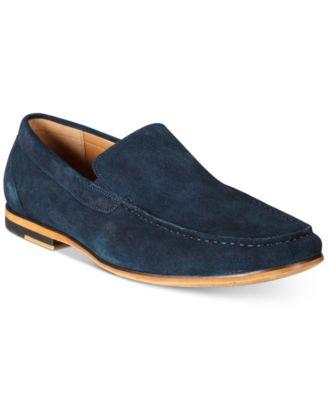 Integer Suede Moc-Toe Loafers