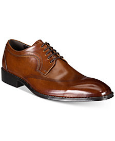 Kenneth Cole Reaction Men's Reason Plain-Toe Wingtip Oxfords