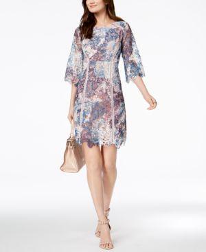 Jax Multicolored Lace Sheath Dress 5700832