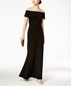 0d756e36 Black Formal Dress - Macy's