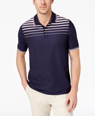 Club Rom Men's Ombré Stripe Polo, Created for Macy's