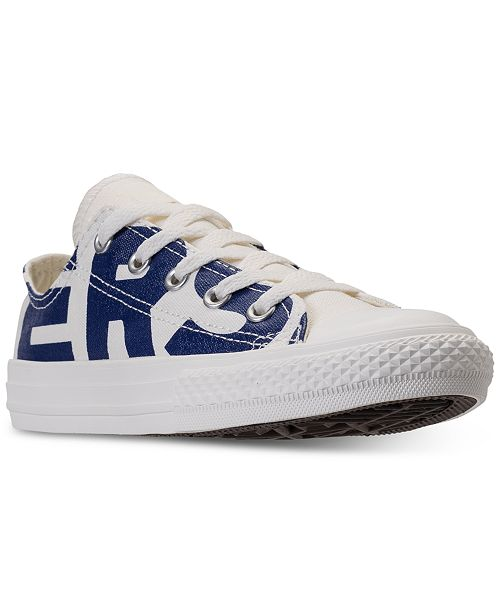 48f239a6cca7ba ... Converse Little Boys  Chuck Taylor All Star Ox Casual Sneakers from Finish  Line ...