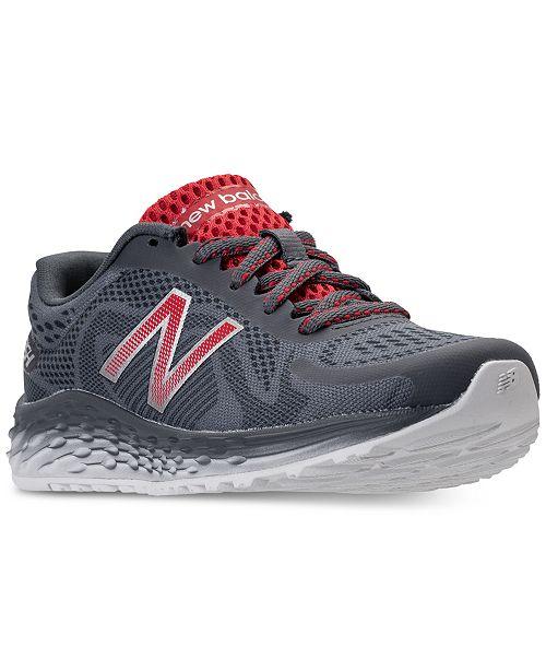 685db61361b9 ... New Balance Little Boys  Fresh Foam Arishi Running Sneakers from Finish  ...