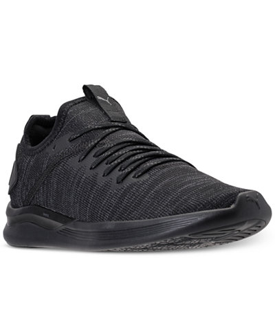 Puma Mens Ignite Flash Evoknit Casual Sneakers from Finish Line