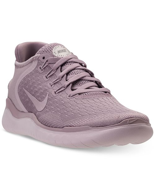 2f32329401c5 Nike Women s Free Run 2018 Running Sneakers from Finish Line ...