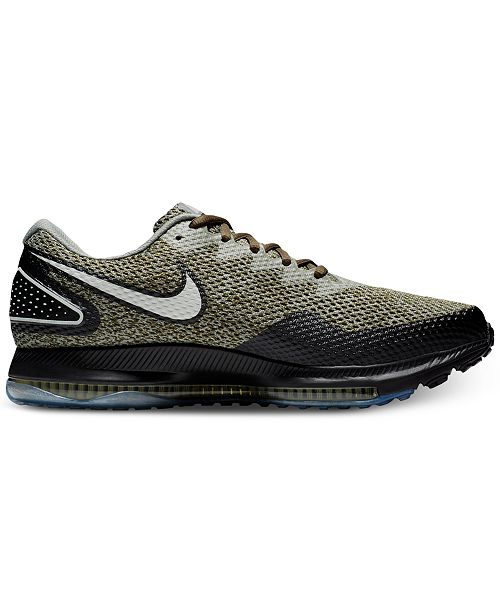 the best attitude 52585 bb80e ... Nike Men s Zoom All Out Low 2 Running Sneakers from Finish Line ...