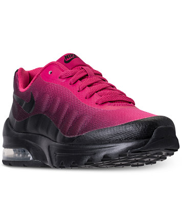 Image 1 of Nike Little Girls' Air Max Invigor Running Sneakers from Finish  Line