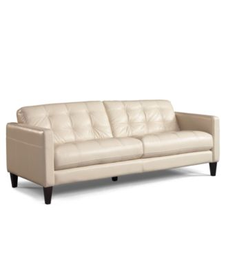 Macy Leather Sofa Myars Leather Sofa A Macy S Exclusive
