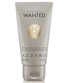 Azzaro Men's Wanted Energizing Facecare Moisturizer, 1.7 oz.