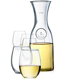 Stemless Wine 7-Pc. Glassware Set
