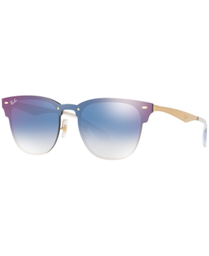 Ray Ban Ray-ban Blaze Collection Sunglasses, Rb3576n 47 In Black/grown