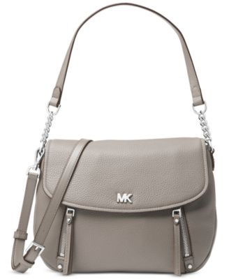 9a0b1773c299 Michael Kors Evie Pebble Leather Shoulder Bag   Reviews - Handbags    Accessories - Macy s