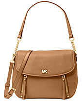Michael Kors Evie Pebble Leather Shoulder Bag