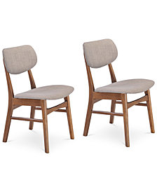 Amena Dining Chair (Set Of 2), Quick Ship