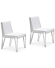 Sianna Dining Chair (Set Of 2), Quick Ship