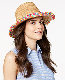 Betsey Johnson Fringe Factor Fedora