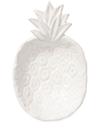 Small White Pineapple Bowl with Gift Box