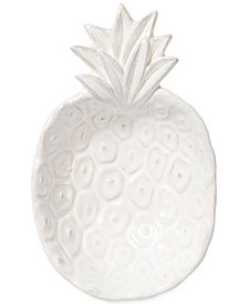 Vietri Small White Pineapple Bowl with Gift Box