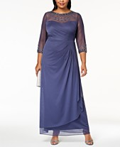 1a2ad99611d Alex Evenings Plus Size Embellished Sweetheart Gown