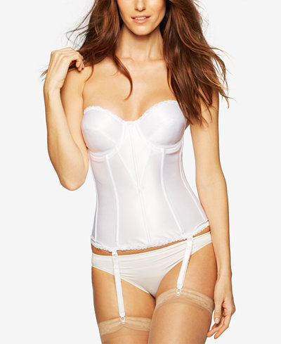 Carnival Satin Full Coverage Torsolette 424