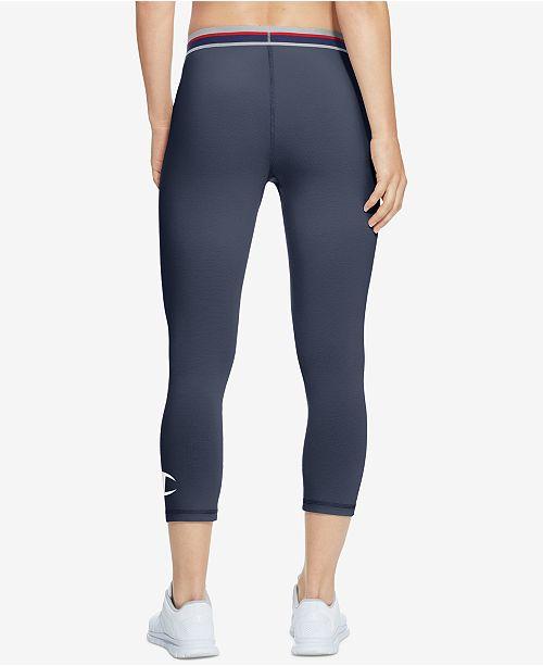 4655439f0100 Champion Capri Leggings   Reviews - Pants   Capris - Women - Macy s