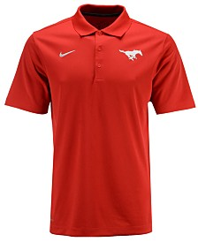 Nike Men's Southern Methodist Mustangs Varsity Team Logo Polo