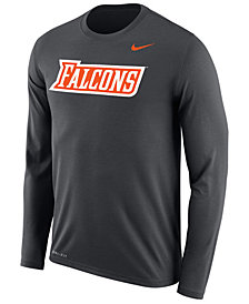 Nike Men's Bowling Green Falcons Dri-FIT Legend Wordmark Long Sleeve T-Shirt
