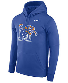 Nike Men's Memphis Tigers Therma Logo Hoodie