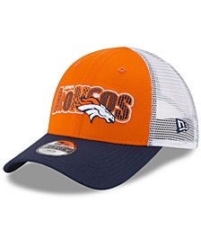 New Era Boys' Denver Broncos Trucker Joy 9FORTY Cap
