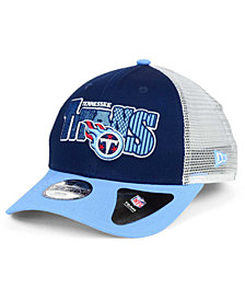 New Era Boys' Tennessee Titans Trucker Joy 9FORTY Cap